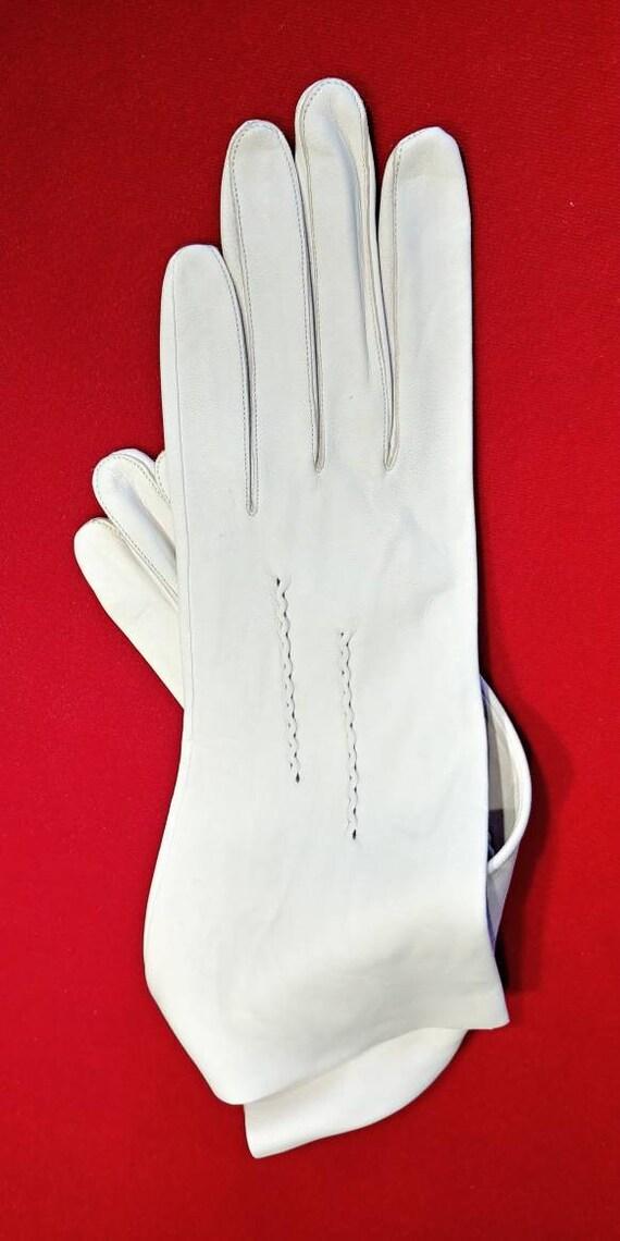 Vintage deer skin leather gloves ~ Size 8