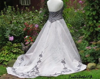 Halloween Wedding Dress Etsy