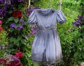 GIRLS GHOST COSTUME Ghost dress Girls Corpse Bride Costume Halloween Dress Flower Girl Dress SiZE 8