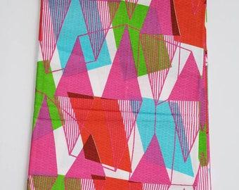 Multicolor African Fabric; Ankara Fabric; African Clothing; African Print; African Headwrap;Ankara Fabric in yards; African Fabric