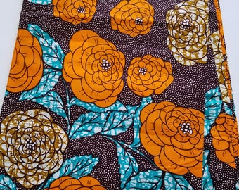 Multicolored African Fabric; Ankara Fabric; African Clothing; African Print; African Headwrap;Ankara Fabric in yards; African Fabric