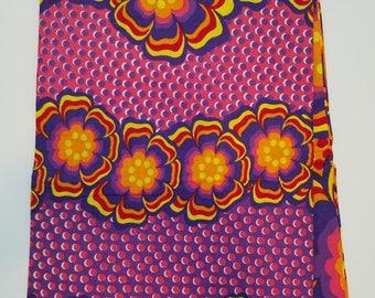 Multicolor African Ankara Fabric; Ankara Fabric; African Clothing; African Print; African Headwrap;Ankara Fabric in yards; African Fabric