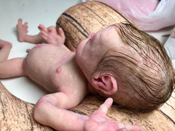 Full body silicone baby boy in soft blend