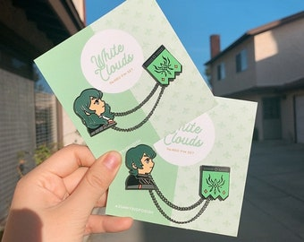FE3H Byleth Paired Pin Set