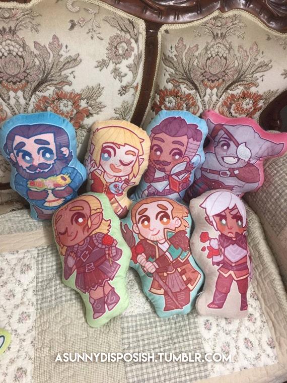 Dragon Age Plush Pillows | Etsy
