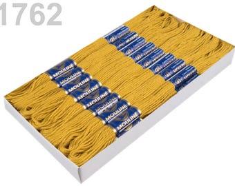 24 Docking Embroidery/stick twist #1762 honey mustard