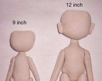 Blank doll body, blank rag doll, rag doll body, the body of the doll made of cloth, to order, textile doll, to make a doll, handmade doll