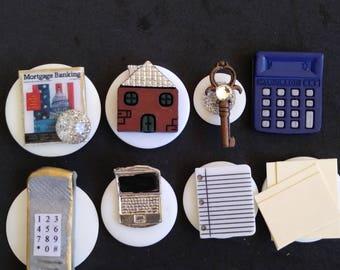Mortgage Banker Push Pins