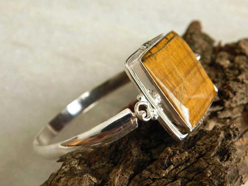 gift stone bangle,bracelet, sterling silver Bracelet,gift stone Bracelet Tiger eye Bracelet tiger eye bangle,tiger jasper bracelet KB-28