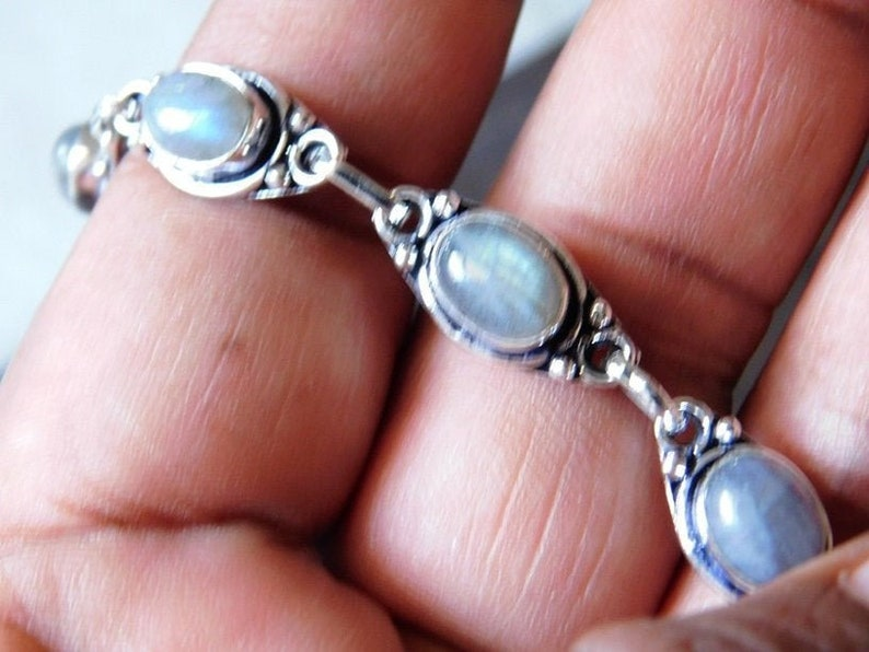 Bezel Bracelet Handmade Bracelet,Adjustable Bracelet Mood Bracelet KS-14 Fiery Labradorite Labradorite Bracelet Solid Silver Bracelet