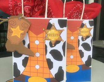 Toy Story Woody Treat Bag | Sheriff Woody | Birthday Treat Bag