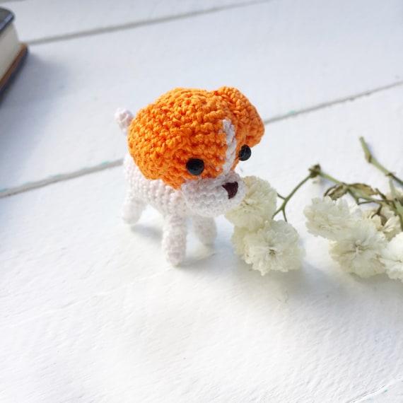 Amigurumi Hund Jack Russel Terrier Häkeln Hund Mini Amigurumi Etsy