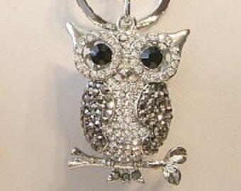 Owl Key Chain or Purse Decoration