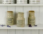 Vintage French Mustard Po...