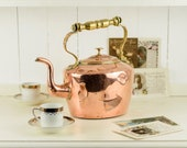 French Copper Kettle with...