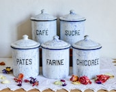 Set of 5 French Vintage C...