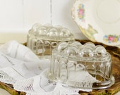 Vintage Pressed Glass Jel...