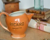 French Ricard Water Jug, ...