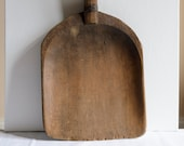 French Antique Sycamore W...
