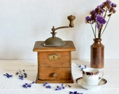 French Vintage Coffee Gri...