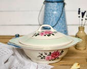 Floral Serving Dish with ...