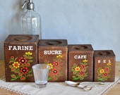 Vintage French Wooden Sto...