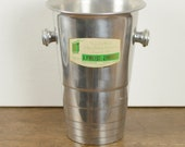 French champagne bucket, ...
