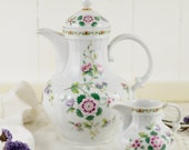 German Vintage Floral Tea...