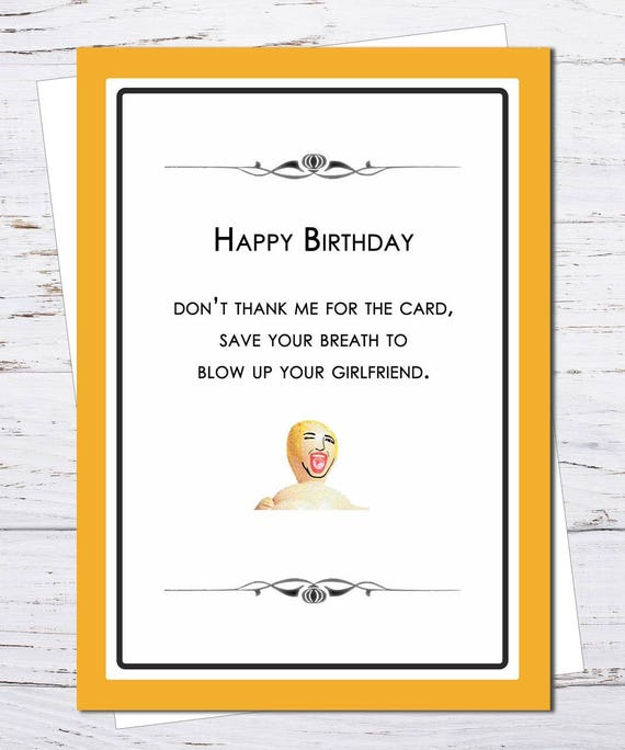 Blow up girlfriend scathing brutal insulting birthday etsy image 0 m4hsunfo