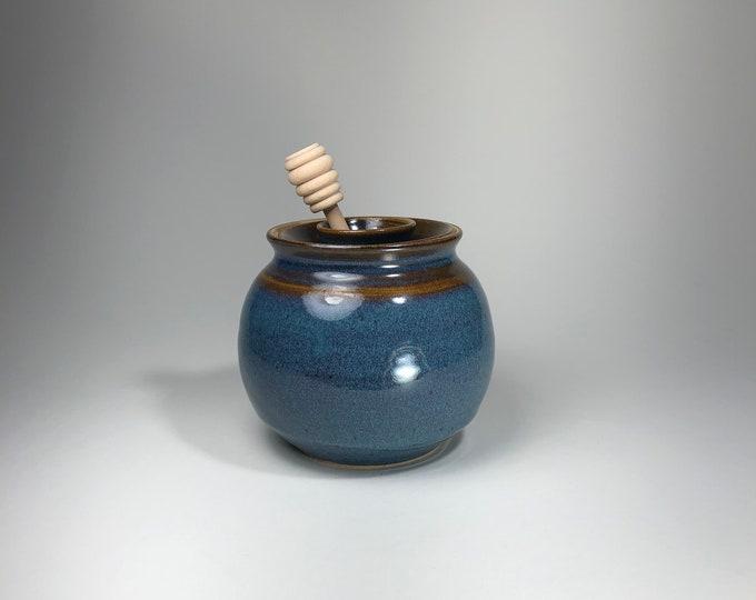 Featured listing image: Stoneware Honey Pots
