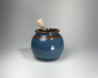 Stoneware Honey Pots