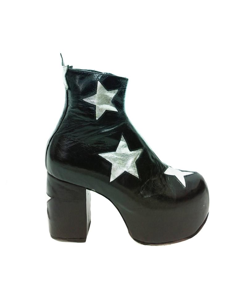 b42097f2641a STARDUST Star Platform Glam Circus Boots Isabella Mars