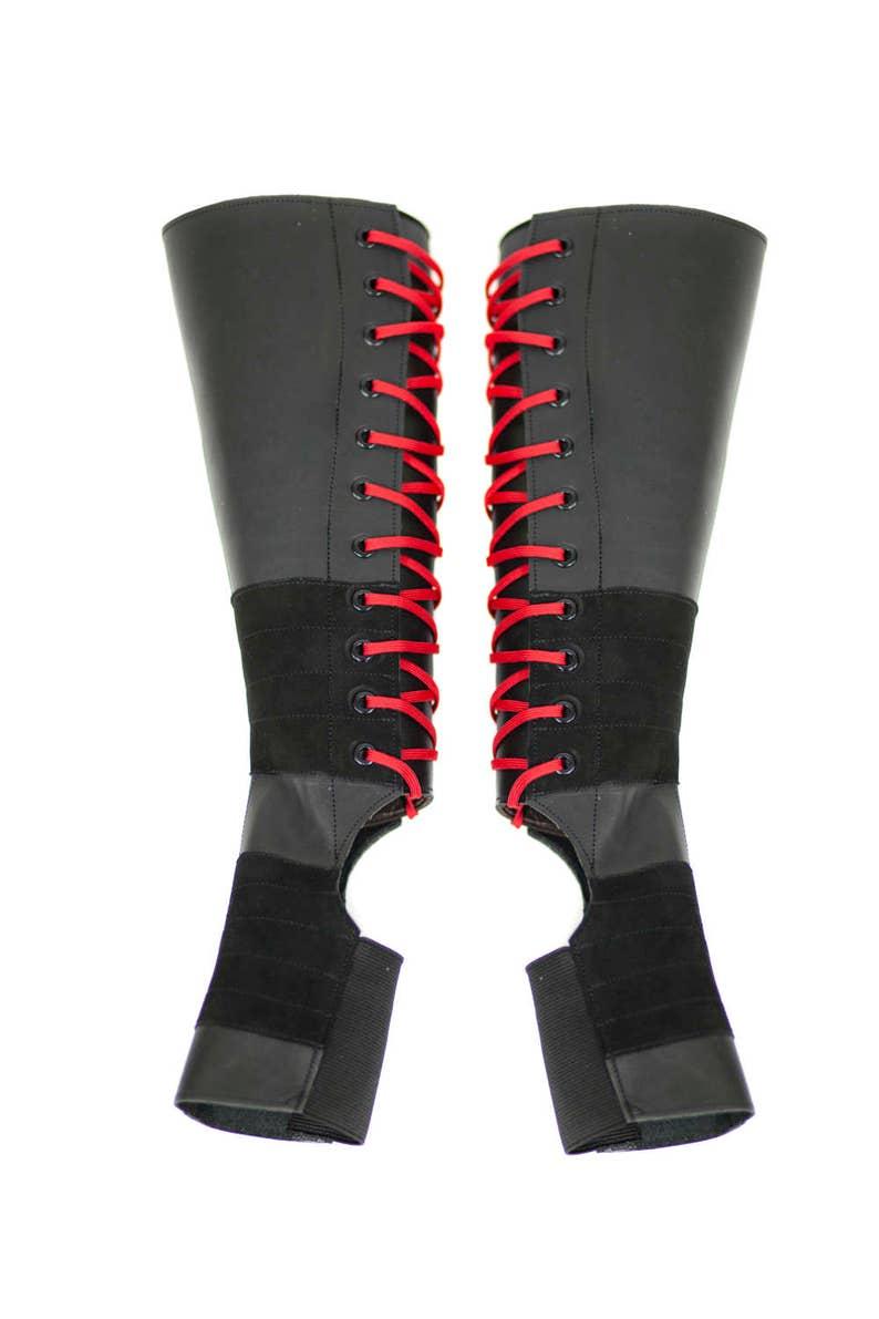 0ce70662e Isabella Mars Black Aerial Boots w/ COLOUR Laces Grip | Etsy