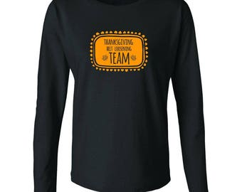 Thanksgiving Graphic Women's Long Sleeve