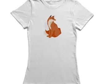 Polygonal Fox Women's T-shirt