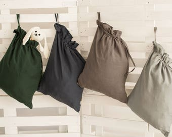 Linen laundry bag, Washed linen bag, dirty laundry bag, linen bag, laundry bag, big laundry bag, linen laundry, big size