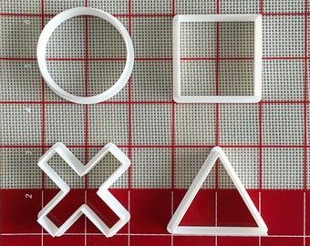 Les boutons PlayStation Cookie Cutter Set