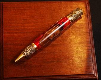 Pheonix Rising Vine & Resin pen