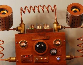 Nixie Clock (Ex-time machine)