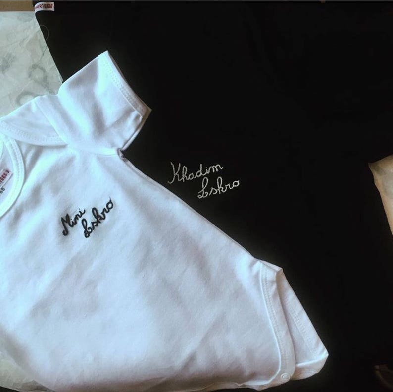 Personalized Embroidered Body