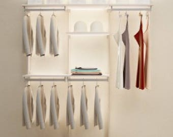 More Colors. DIY Closet Organizer ...