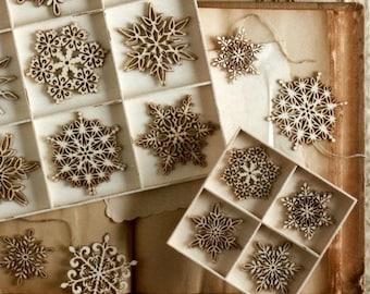 Christmas tree snowflakes. Laser cut files SVG DXF CDR vector plans, files Instant download, cnc pattern, cnc cut, laser cut