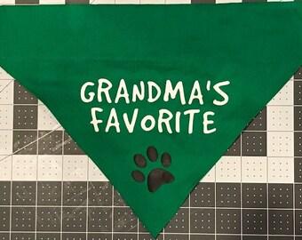 Grandma's Favorite - Pet Bandana