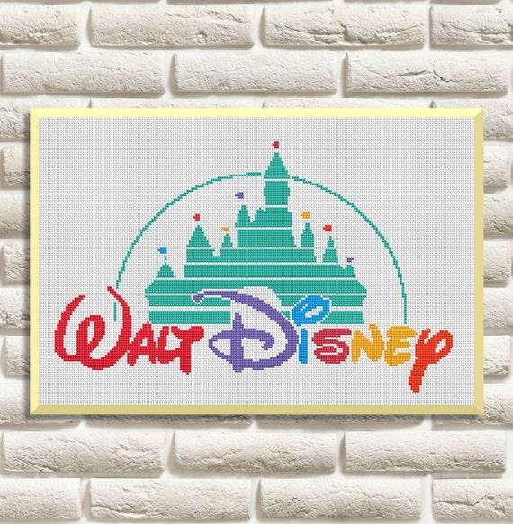 Walt Disney Schemi Punto Croce Ricamo Ricamo Pdf Download Immediato
