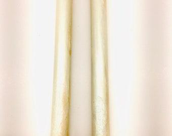 Mother of Pearl Bespoke Kitless Pen Blanks Cast In Alumilite Resin