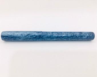 "Blue Van ""Whoa"" Custom Bespoke Kitless Fountain Pen, Vista Model"