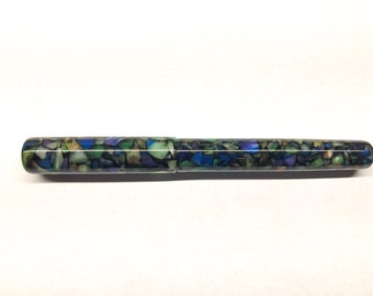 Stained Glass | Multi-colored | Bespoke Kitless Fountain Pen