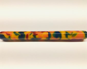 Colorful | Camo | Green | Blue | Red | Yellow | Purple | Multi-colored | Bespoke Kitless Fountain Pen