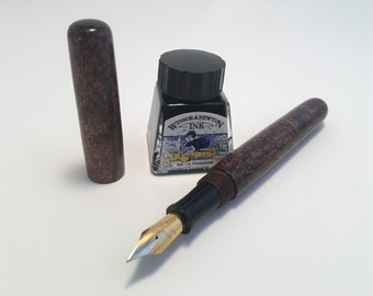 Antique Bronze | Fountain Pen | Hybrid Bespoke