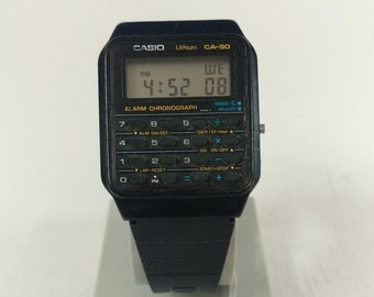 Casio CA-50 Calculator Watch Module 437 Back to the Future Prop